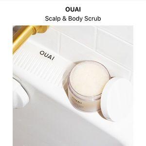 OUAI scalp and body scrub new